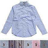 POLO RALPH LAUREN ポロ ラルフローレン casual shirts Slim fit 長袖 スリムフィット カジュアルシャツ メンズ ロゴ刺繍 並行輸入品 VITA581
