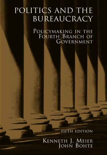 Politics and the Bureaucracy PDF