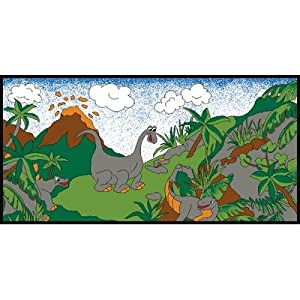 Learning Carpets Dinosaurs LC 167 from Learning Carpets