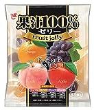 エースベーカリー 果汁100%ゼリー 1袋(15g×33個)