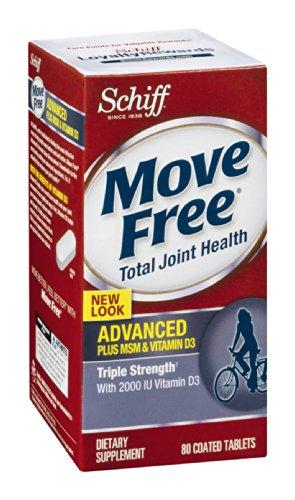 Move Free Advanced Plus Msm Plus Vitamin D Schiff 80 Tabs