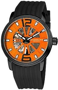 Stuhrling Original Men's 1078.335617 Classic Collection Delphi Achilles Automatic Skeleton Watch