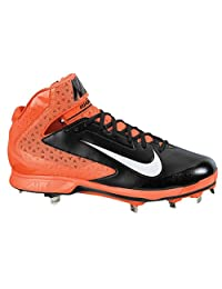 pictures of NIKE AIR HUARACHE PRO MID METAL MEN'S BASEBALL CLEATS 14 US