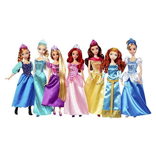 New Disney Princess Royal Collection 7 Pack