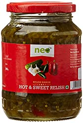 Neo Relish Hot and Sweet, 340g