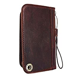 Genuine Leather Case for Galaxy S5 and Htc One M8 Lg G3 Wallet Cover Handcraft 5 S Luxury G2 M7 + Iphone 6 slim
