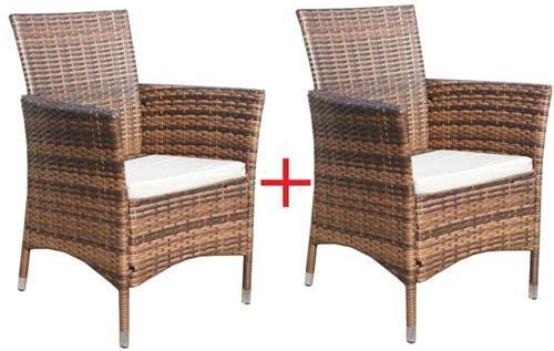 Gartenmobel Sets Gunstig 2 X Poly Rattan Sessel Stuhl