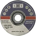 50 St�ck SBS Inox Trennscheiben 125 x...
