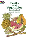 img - for Fruits and Vegetables Coloring Book book / textbook / text book