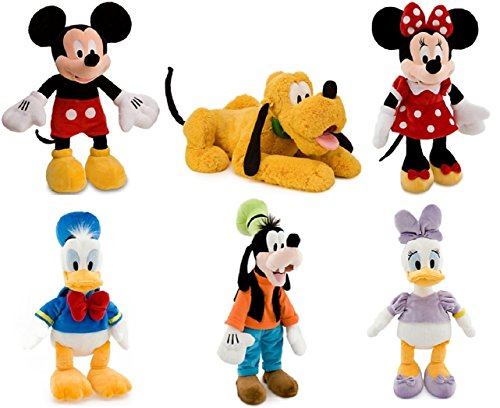 52b353be0d1 Disney Mickey Mouse Clubhouse Deluxe Set Of 6 Large Plush Toys 15 20