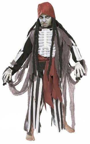 Kids Scary Ghostship Pirate Costume