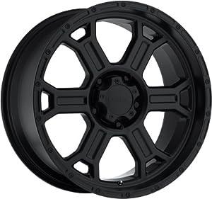 V-Tec Raptor 22 Matte Black Wheel / Rim 6×135 with a -12mm Offset and a 87.1 Hub Bore. Partnumber 372-2236MB-12