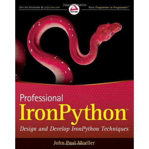 Professional IronPython (Wrox Professional Guides) + Source Code