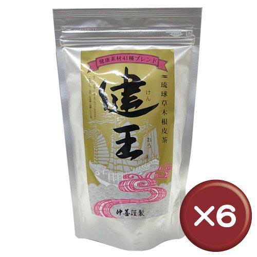 琉球草木根皮茶 健王 500g 6個セット