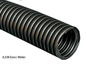 50m m16 kopos 16mm kabelschutzrohr elektrorohr installationsrohr wellrohr flexibel schwarz. Black Bedroom Furniture Sets. Home Design Ideas