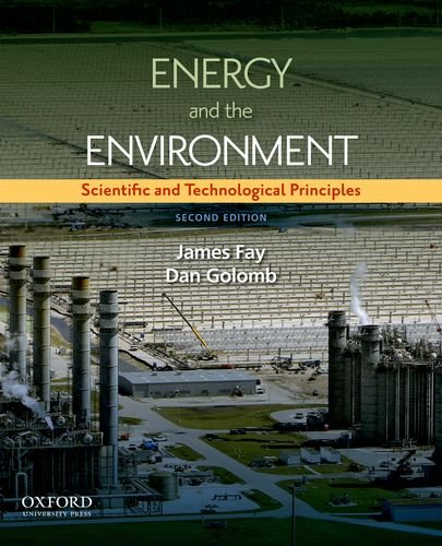 Energy and The Environment: Scientific and Technological...