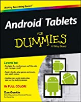Android Tablets For Dummies Front Cover