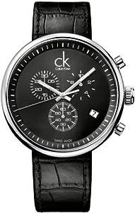 Calvin Klein Substantial K2N281C1 Reloj elegante para hombres Clásico & sencillo
