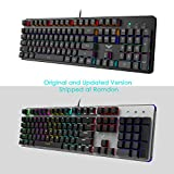 HAVIT HV-KB366L LED Backlit Wired Mechanical Gaming Keyboard with Blue Switches