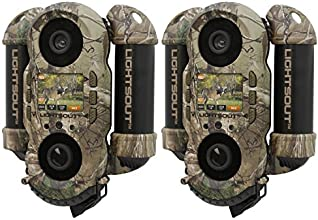 Wildgame Innovations Crush 10X Lights Out Hunting Trail Camera Two Pack