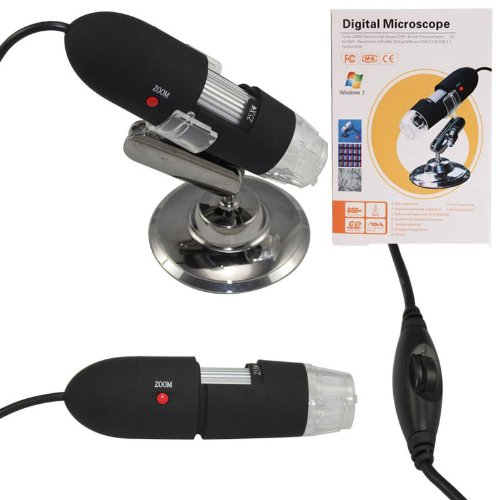 The Newest 2Mp 8 Led 800X Usb Digital Microscope Endoscope Magnifier Camera
