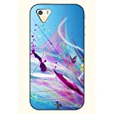 OOFIT Phone Case design with Colorful Dots and Lines for Apple iPhone 4 4s 4g by OOFIT
