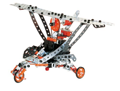 meccano build and play helicopter with 371245874183 on Meccano Super Construction Set 25 Motorized Model Building Set 638 Pieces Ages 10 Stem Education Toy in addition 371245874183 together with Meccano Build And Play Helicopter P10906 additionally Beluga Meccano Build Pl likewise Baril Junior 150 pièces.