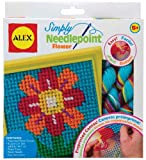 ALEX Toys - Craft, Flower Blossom Simply Needlepoint Kit, 395FN