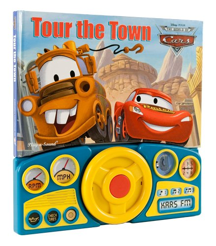 Cars Steering Wheel Sound Book: Tour the Town
