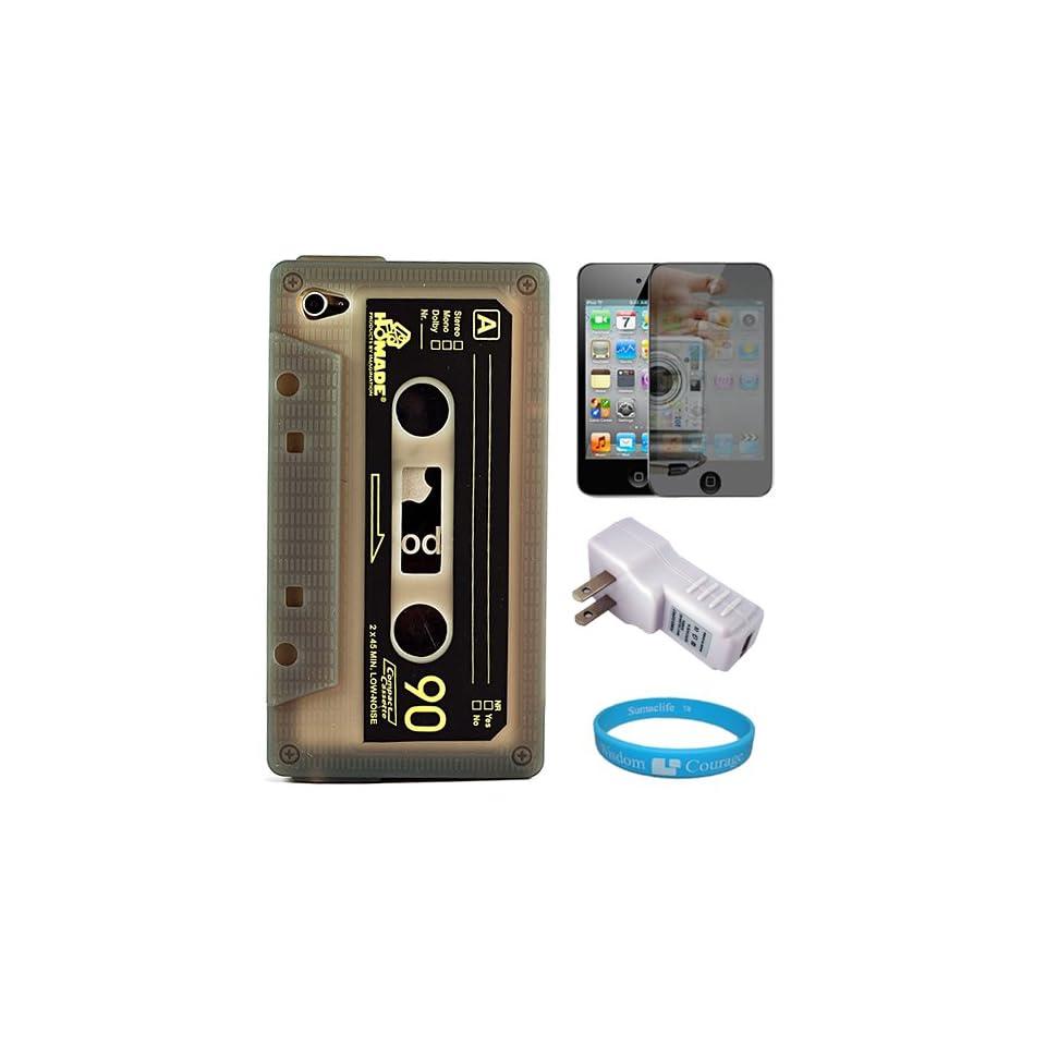 Retro Smoke Cassette Tape Design Protective Rubberized