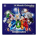 Walt Disney World 2013 - 2014 16 Month Calendar NEW
