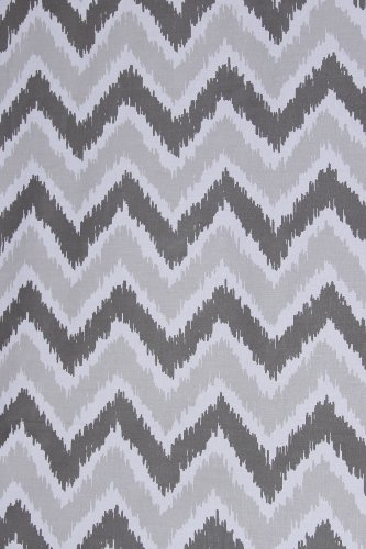 Ikat Zigzag Grey 2 Crib Sheets