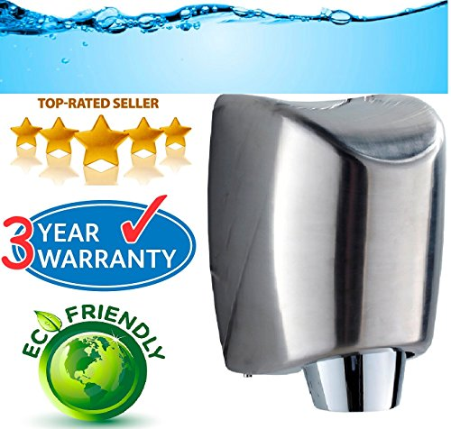 Heavy Duty Stainless Steel Automatic Hand Dryer
