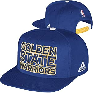 Golden State Warriors Adidas NBA 2013 NBA Draft Snapback Hat (Blue) [Misc.] by adidas