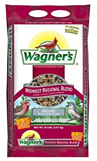 Wagner's 62006 Mid-Western Regional Birdseed Mix, 20-Pound