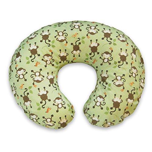 Boppy-Pillow-Slipcover-Classic-Monkey-BusinessGreen