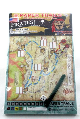 Paper Trails Game - Pirates Edition