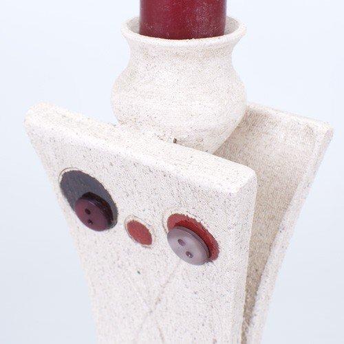 Candelabro mediano botones