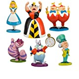 Disney Alice in Wonderland Figure Play Set -- 6-Pc. (200647)