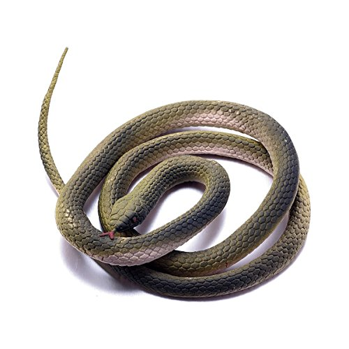 FUN LAVIE®Rubber Lifelike Snakes Scary Gag Gift Funny Prank Joke Toy Kid Child