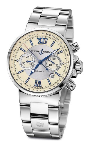 Ulysse Nardin Men's 353-66-7/314 Maxi Marine Chronograph Watch