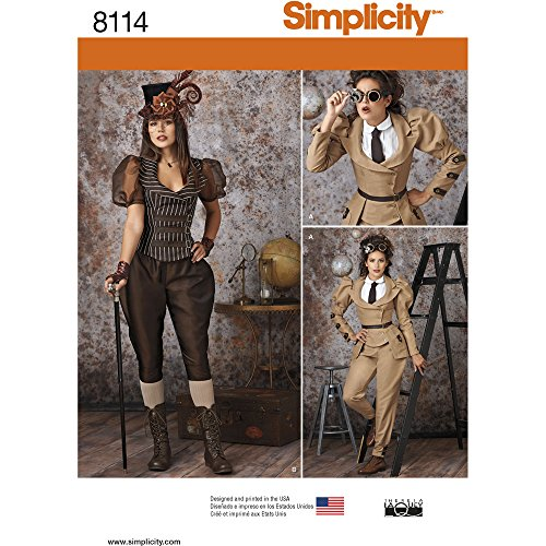 simplicity-creative-patterns-us8114r5-misses-steampunk-costumes-size-r5-14-16-18-20-22