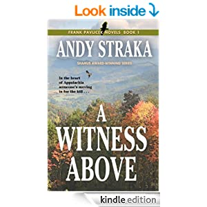 A Witness Above (Frank Pavlicek Mystery Series Book 1)