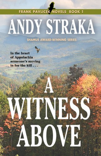 A Witness Above (Frank Pavlicek Mystery Series, Book 1)