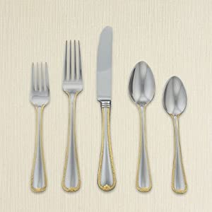 Lenox 5-Piece Vintage Jewel Gold Place Setting at Sears.com