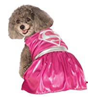 Rubies Costume DC Heroes and Villains Collection Pet Costume-Pink Supergirl by Amazon.com, LLC *** KEEP PORules ACTIVE ***