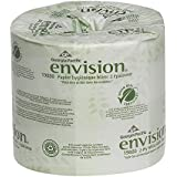 "Georgia-Pacific Envision 19880/01 White 2-Ply Embossed Bathroom Tissue, 4.05"" Length x 4"" Width (Pack of 4 Rolls)"