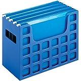 "Pendaflex Decoflex Desktop File, 9 1/2"" H x 12 1/4"" W x 6"" D, Sapphire Blue (23011)"