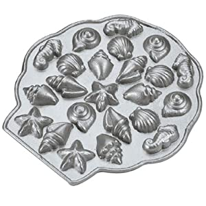 Nordic Ware Platinum Collection Sea Shell Teacakes Pan