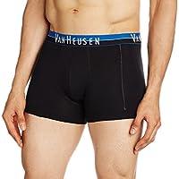 Van Heusen Men's Cotton Trunks (8907522403871_10041_Large_10041_Pure Black_Large)